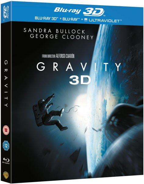 Blu-ray 3D - Gravity (2D & 3D & Digitalcopy auf 2 Discs) für €21,80 [@Zavvi.com]