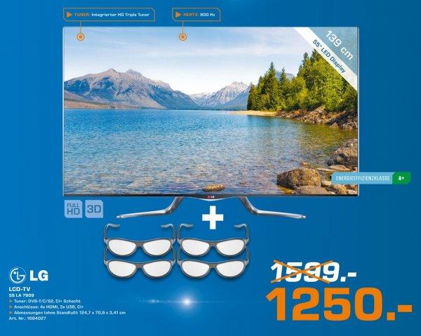 LG 55LA7909 für 1250€,Samsung UE50F6500 850€ Lokal [Saturn Regensburg]