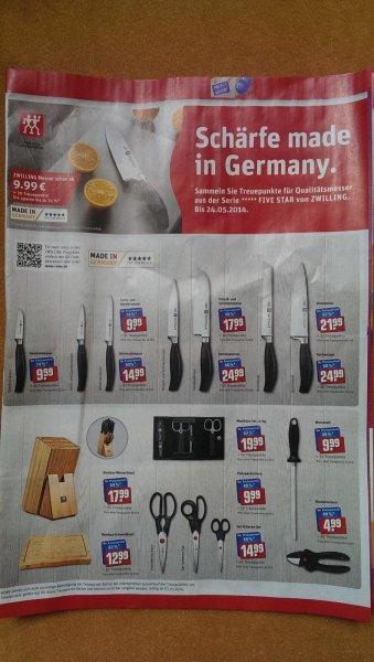 (Ebay)ZWILLING 150 REWE Treuepunkte für 9,98 EUR inkl. Versand
