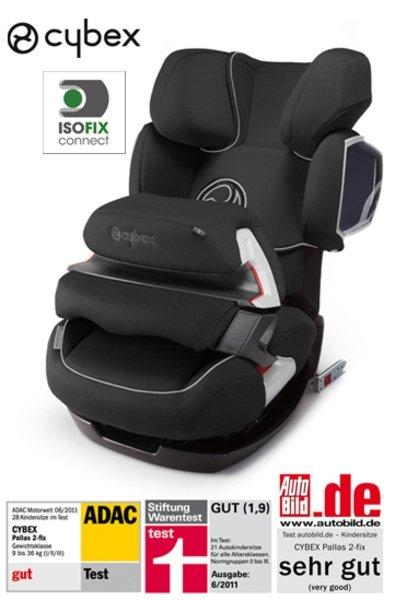CYBEX Kindersitz PALLAS 2-FIX schwarz - 223 Euro inkl. 3 % Skonto Vorkasse