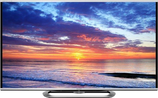 """Sharp LC-80LE857E für 4599€- 80"""" 3D-LED mit Full HD, 800Hz AMT, DVB-T/T2/C/S/S2, HbbTV, AQOUS NET+"""