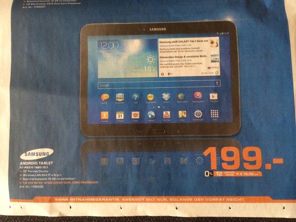 [Lokal Bremen] Samsung Galaxy Tab3 10.1 Wifi