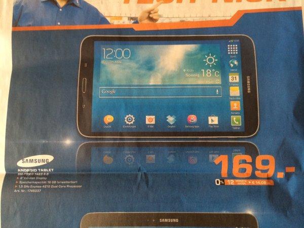 [Lokal Bremen] Samsung Galaxy Tab3 8.0 Wifi