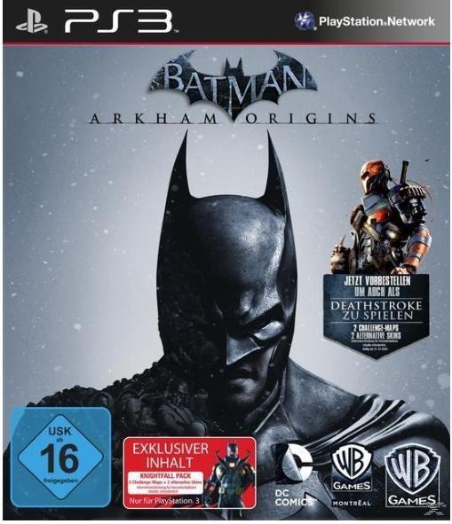 [Saturn] Batman: Arkham Origins inkl. Deathstroke DLC (360/PS3) für 15 EUR + ggf. VSK