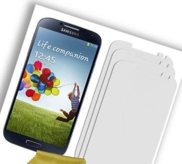 3 Displayschutzfolien für das Galaxy S4 oder S3 für 0,58 € inkl. Versandkosten