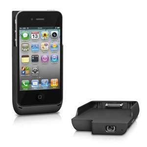 [wieder da] TREKSTOR - Mini-Projektor iGear lumio für iPhone 4/4S