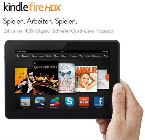 20% auf alle Kindle Fire HDX 7-Tablet ab 183,20 € [Amazon]