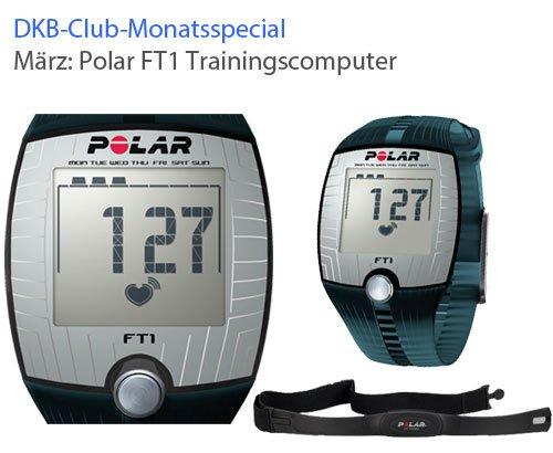 [DKB] POLAR Trainingscomputer FT1 + Herzfrequenz-Sensor T31 für 15.000 Punkte + 14,90€ Zuzahlung inkl. Versand