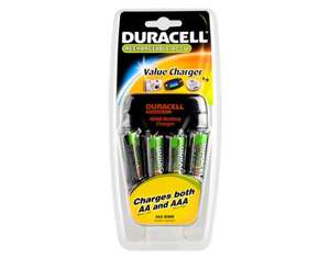 Duracell Charger CEF14 + 4HR06