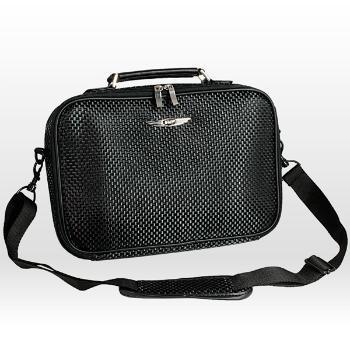 Sushi Mini Lap carbon Tasche mit Gurt in schwarz für Netbooks und 3,5'' Festplatten für 8,98 Euro