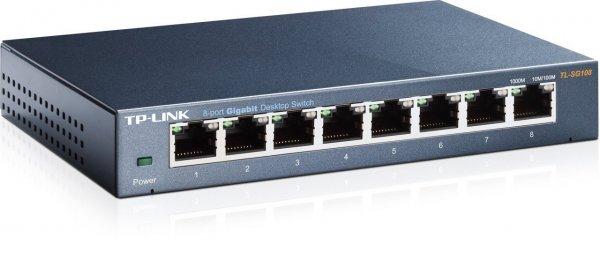 [AMAZON]TP-Link TL-SG108 8-port Metal Gigabit Switch
