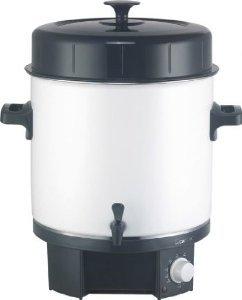 Einkochautomat Clatronic EKA 3338 mit Zapfhahn 25 Liter 1800 Watt, auch für Glühwein & Heißgetränke, für 23,80€ (Idealo: 54,97€|PVG 49,90€|Ersparnis 52%) @Metro offline (Bundesweit)