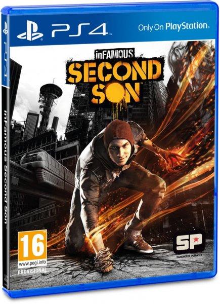 PS4: inFamous: Second Son [Playstation 4] Vorbesteller für 50,39 € [inkl. Versand]