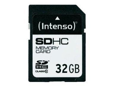 Intenso Class 10 SDHC 32GB Speicherkarte  15,90 für Prime Kunden