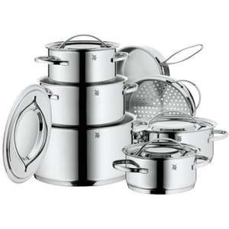 """WMF™ - 7-teiliges Cromargan Kochgeschirr-Set """"Gala Plus (0711126040)"""" für €177.- [@Amazon.de]"""