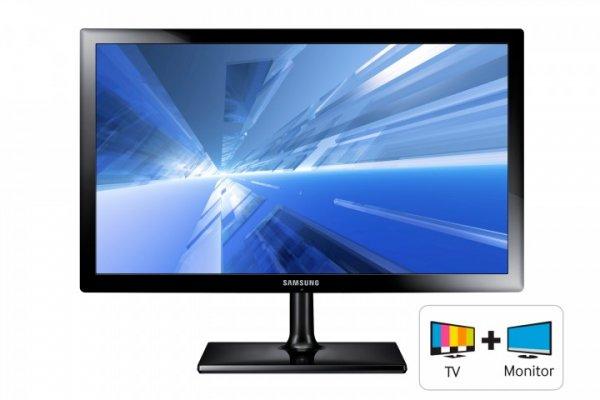 "Comtech: Samsung SyncMaster T27C370EW 68,58 cm (27"") Full HD LED Monitor-TV für 229€"