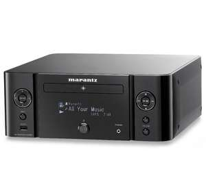 MARANTZ Melody Media M-CR610 Mikro­an­lage WLAN/Air­play/DLNA - schwarz