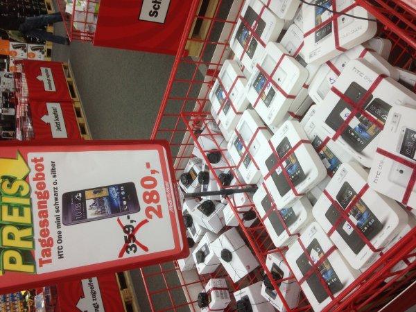 (Lokal) Media Markt Hamburg-Hummelsbüttel / HTC One Mini für 280€