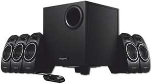 5.1-Lautsprechersystem Creative A550 für 56,85€ bei zackzack.de