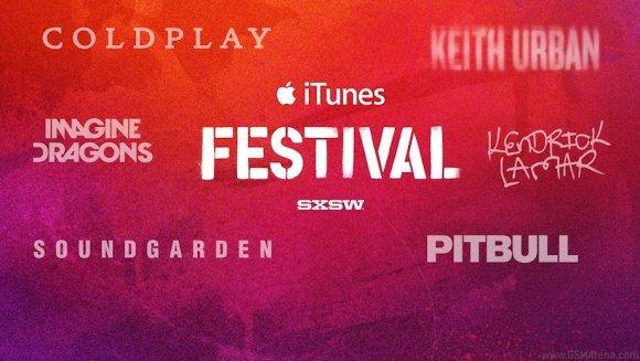 iTunes Festival SXSW kostenloses Stream (11. bis 15. März)