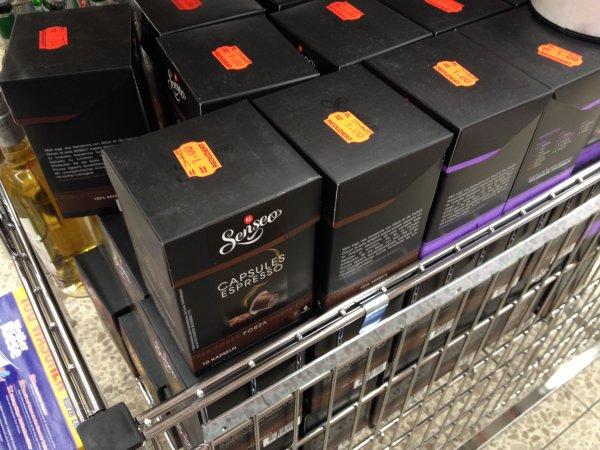 [LOKAL 88250] 10 Senso Kapseln Espresso als MHD-Ware von 2,99 auf 1,00