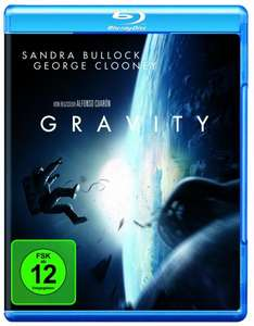 Gravity [Blu-ray] für 9,97€ @Amazon