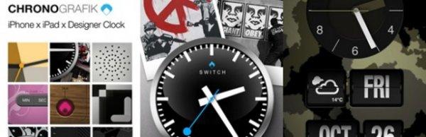 [iOS] ChronoGrafik-Alarm Clock + Shake to Snooze