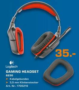Logitech G230 Gaming Headset  für 35€ 08.03.14 Tagesangebot Lokal [Saturn Neuss]