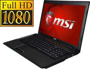 MSI GP60-i540M287FD Gaming Notebook für 599,- ohne VSK bei Arlt + Notebooksbilliger