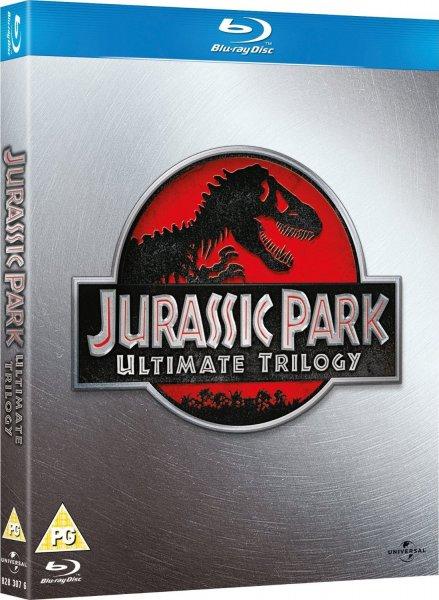 Blu-ray Box - Jurassic Park Trilogy (3 Discs) für €8,99 [@Play.com]