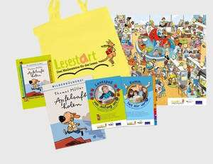 Lesestart Sets Kostenlos in Bibliothek für Kinder ab 1 Jahr