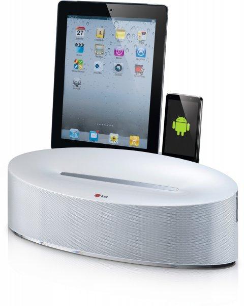 [amazon.de Blitzangebot] LG ND5630 Dual Dockingstation (AirPlay, Bluetooth) silber für 129 €