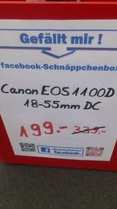 Canon EOS 1100D inkl. 18-55mm KIT (Media Markt Ulm)