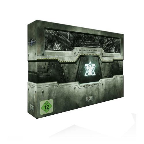 StarCraft II: Wings of Liberty - Collectors Edition 39.99€ offline bei Müller