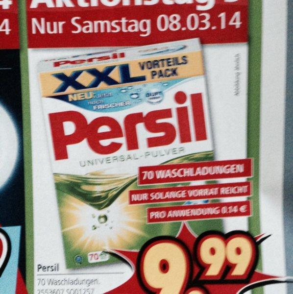 Lokal Segmüller Persil 70 WL 9,99€