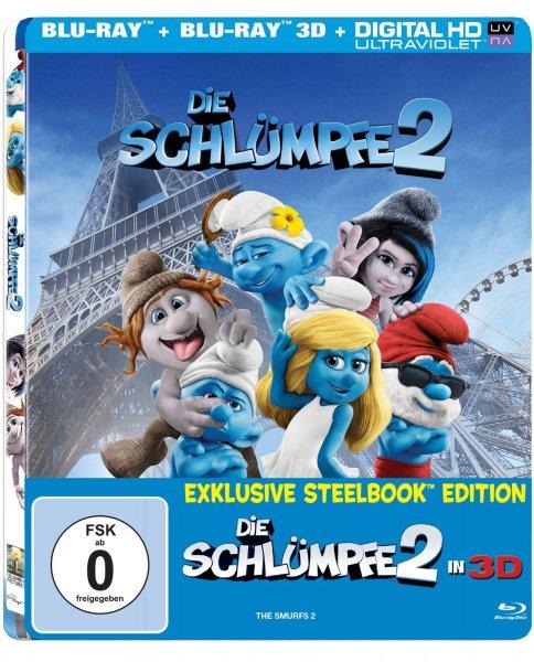[Amazon.de] Schlümpfe 2 3D Steelbook (mit Lenticular Cover)