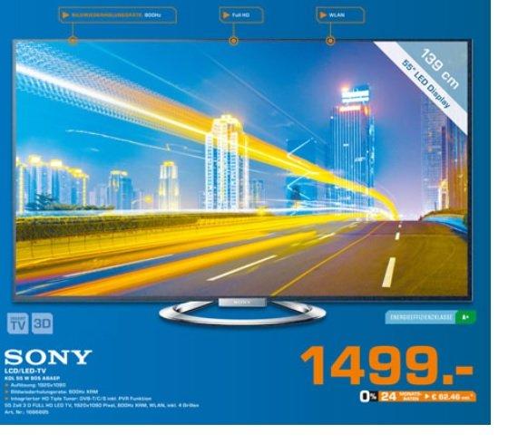 [LOKAL] Sony KDL-55W905A - Saturn Dortmund / Lünen / Soest