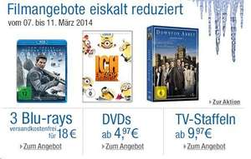 [amazon.de] Filmangebote eiskalt reduziert von 7.3-11.3.2014 wie z.b. Hitchcock Collection [Blu-ray] [Limited Edition] für  89,97 € (Sammelthread)