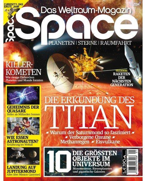 """""""Space - Das Weltraum Magazin"""", eine Ausgabe kostenlos, keine Kündigung notwendig"""
