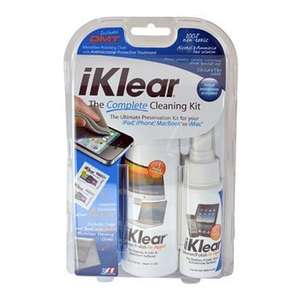 Meridrew iKlear Complete Cleaning Kit für Apple iPhone/iPad/iPod [Amazon WHD]