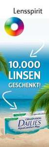 Lensspirit verschenkt 10k Kontaktlinsen - FACEBOOK