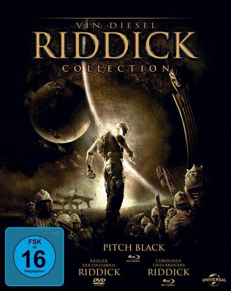 Riddick Collection [Blu-ray] für 13,97€ @ Amazon