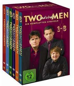 Two and a half Men Superbox (Staffel 1-6) @prosieben-fanshop.de