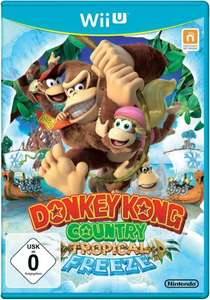 Donkey Kong Country Tropical Freeze (Wii U) für 34,22€ @Voelkner