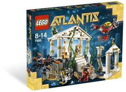 Lego 7985 Atlantis Tempel zu 35,-- € [Marktkauf Sonneberg]