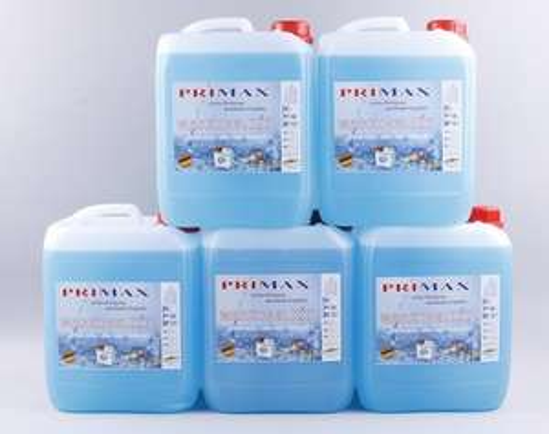 5 x 5 Liter Primax Flüssigwaschmittel blau incl. einem Ausgiesser. Sonderangebot! Versandkostenfrei !!