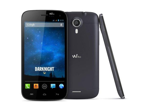 Wiko Darknight Smartphone für 182,75 (5 Zoll, 1280x720, Dual-SIM, MicroSD, Wechselakku)