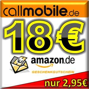 callmobile sim karte 18 00 euro amazon gutschein. Black Bedroom Furniture Sets. Home Design Ideas