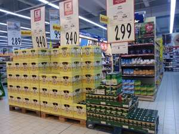Diverse Angebote bei Kaufland z.B. Wagner Tiefkühl Pizza für 1.66€. Jacobs Kaffee Bohnen/Gemahlen für 2.99€ (1/2 kg Packung)