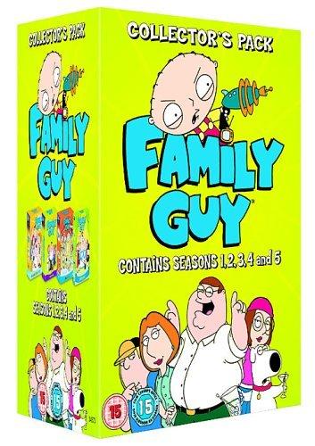 Family Guy Season 1 - 5 - amazon.co.uk -